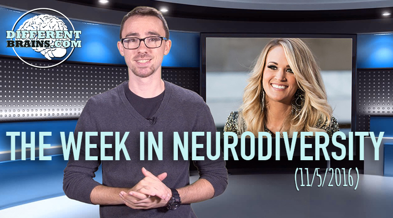 Week In Neurodiversity – Boy With Tourette's Sings With Carrie Underwood (11/05/16)