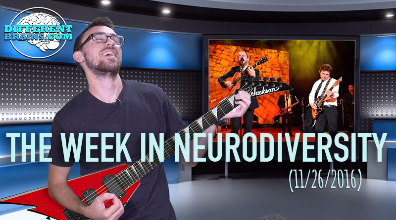 Week In Neurodiversity – Michael J Fox & Dave Matthews Jam For Parkinson's (11/26/16)