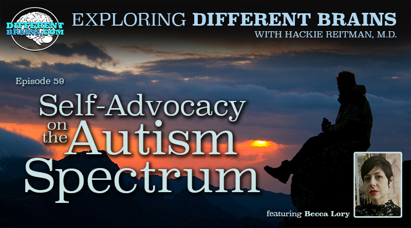 Self-Advocacy On The Autism Spectrum, With Becca Lory | EDB 59