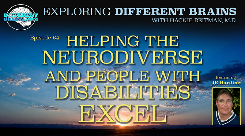Helping The Neurodiverse And People With Disabilities Excel, With JR Harding Of FSU   EDB 64