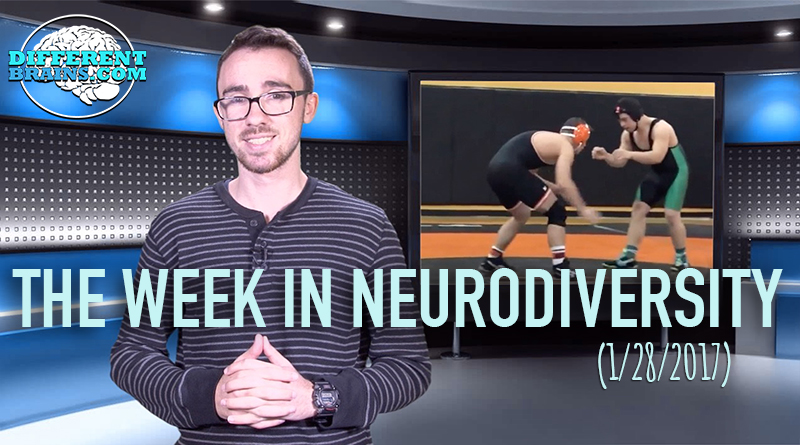 A Winning Debut For Wrestler With Down Syndrome – Week In Neurodiversity (1/28/17)