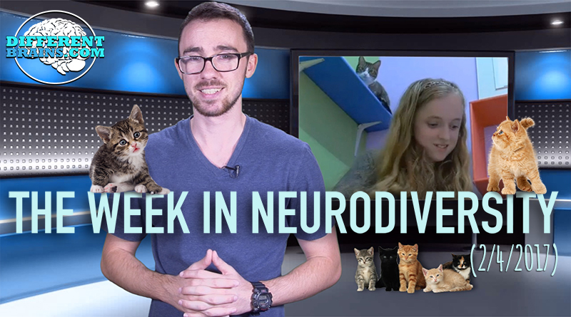 Girl With Apraxia Finds Bond With Shelter Cats – Week In Neurodiversity (2/04/17)