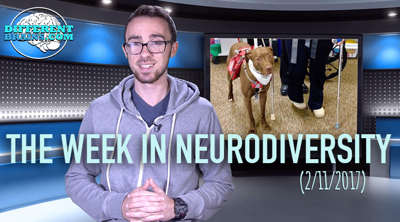 Dog Changes The Life Of Woman With A TBI – The Week In Neurodiversity (2/11/17)