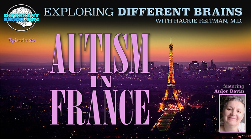 """Autism In France, With Anlor Davin Author Of """"Being Seen"""" 