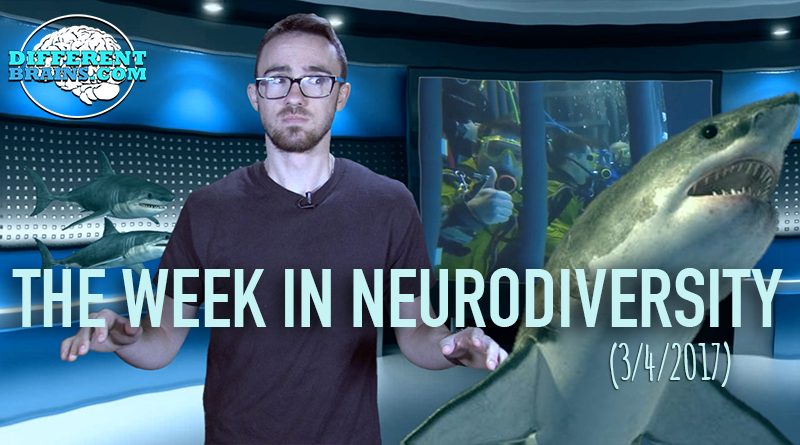Can Swimming With Sharks Help PTSD? – Week In Neurodiversity (3/04/17)