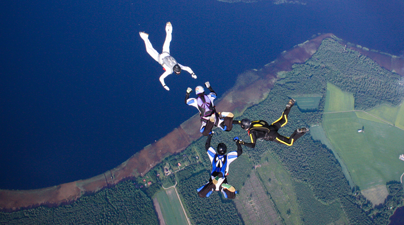 Skydiving For Epilepsy: Mother Takes Flight For Newborn Daughter's Fight