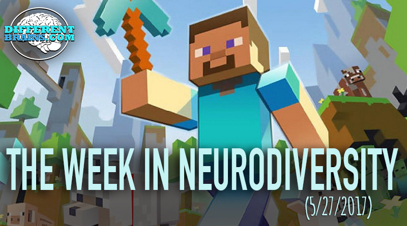 Father Creates Minecraft Safe Place For Kids With Autism – Week In Neurodiversity (5/27/17)