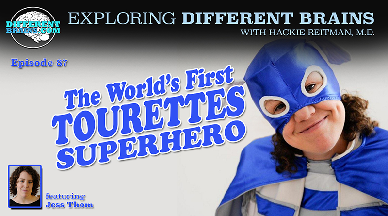 The World's First Tourettes Superhero, With Jess Thom Of Touretteshero | EDB 87