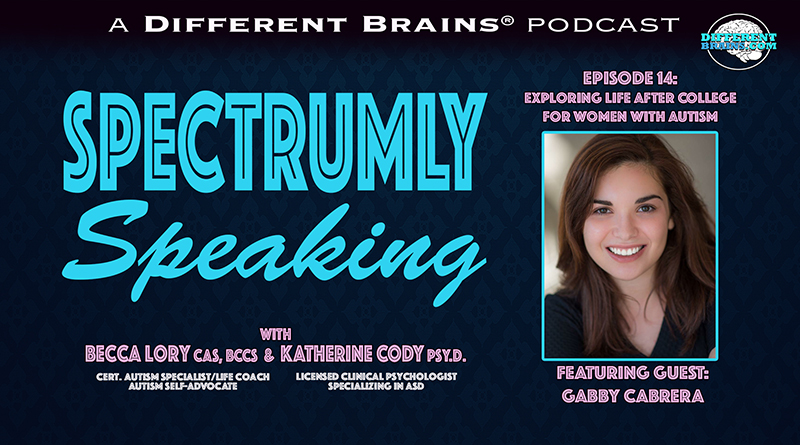 Exploring Life After College For Women With Autism, With Gabby Cabrera | Spectrumly Speaking Ep. 14