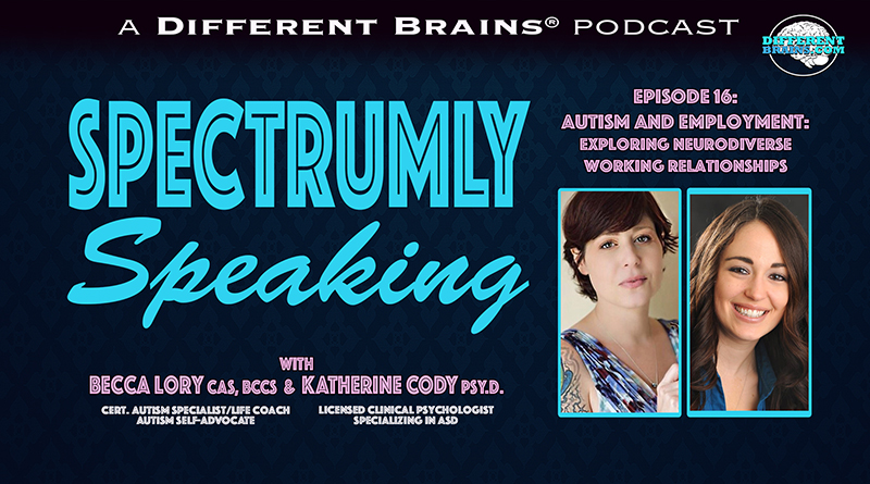 Autism And Employment: Exploring Neurodiverse Working Relationships   Spectrumly Speaking Ep. 16