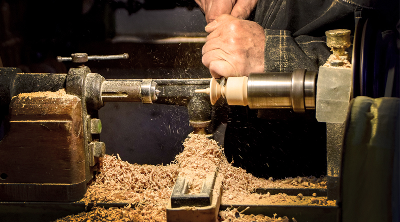 Woodworking Helps Army Veteran Cope With PTSD
