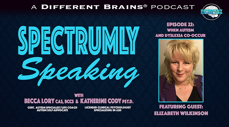 When Autism And Dyslexia Co-Occur, With Elizabeth Wilkinson, The Dyslexic Dyslexia Consultant | Spectrumly Speaking Ep. 22