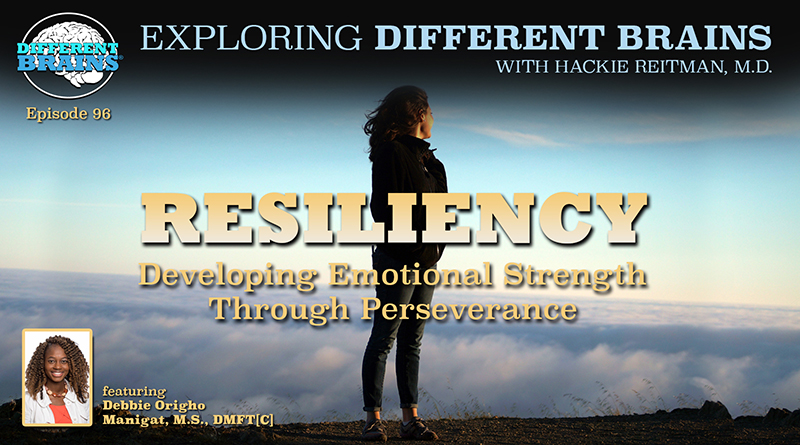 Resiliency: Developing Emotional Strength Through Perseverance, With Debbie Manigat   EDB 96