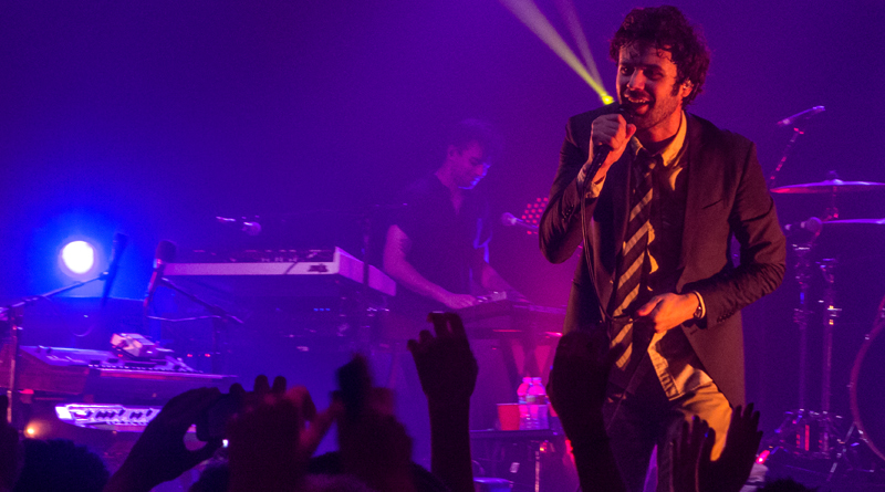 Lead Singer Of The Band Passion Pit Advocates For Mental Health Support