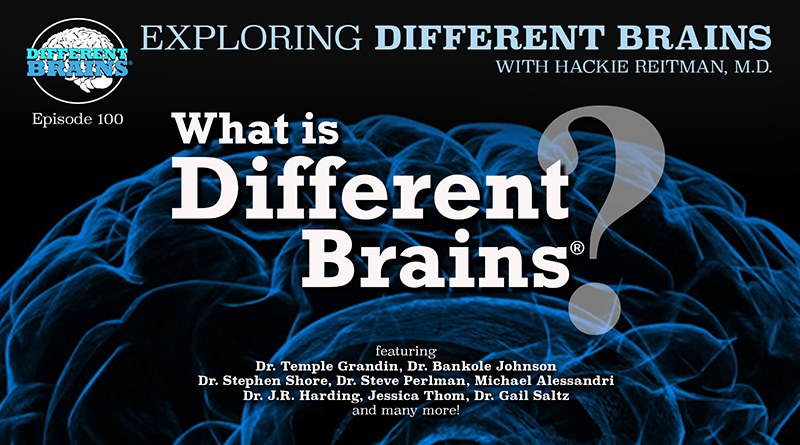 What Is Different Brains? Advocating For Neurodiversity From Autism To Alzheimer's   EDB 100