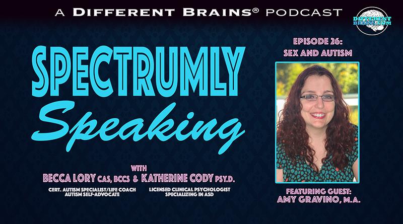 Sex And Autism, With Amy Gravino, M.A.   Spectrumly Speaking Ep. 26
