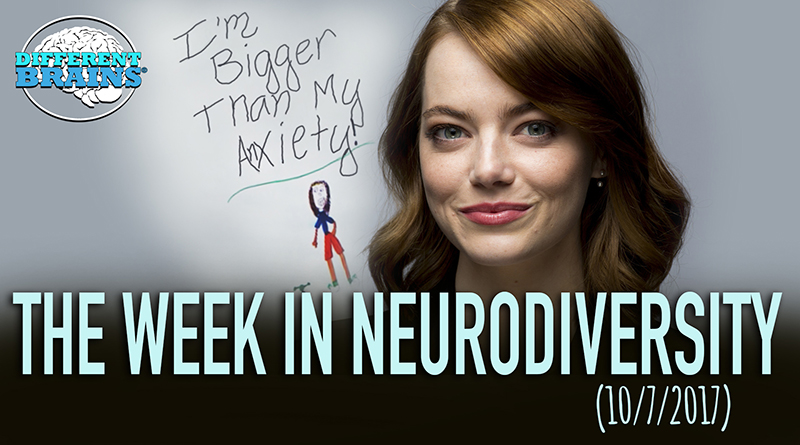 Emma Stone Discusses Her Childhood Anxiety With Stephen Colbert – The Week In Neurodiversity (10/7/17)