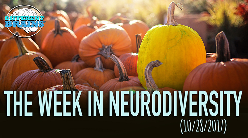 Yellow Pumpkins Raise Disability Awareness For Halloween - Week In Neurodiversity (10/28/17)