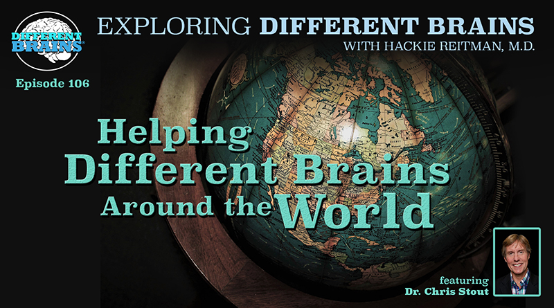 Helping Different Brains Around The World, With Dr. Chris Stout | EDB 106