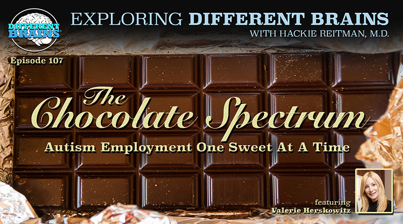The Chocolate Spectrum: Autism Employment One Sweet At A Time, W/ Valerie Herskowitz   EDB 107