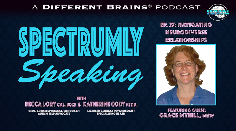 Episode 27 - Navigating Neurodiverse Relationships, With Grace Myhill, MSW   Spectrumly Speaking Ep. 27