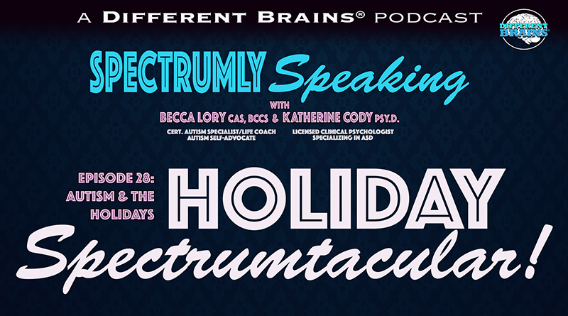 Holiday Spectrumtacular: Navigating The Holidays With Autism   Spectrumly Speaking Ep. 28