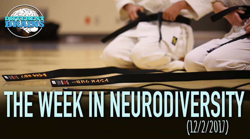 Woman With Down Syndrome Becomes Fourth Degree Black Belt – Week In Neurodiversity (12/2/17)