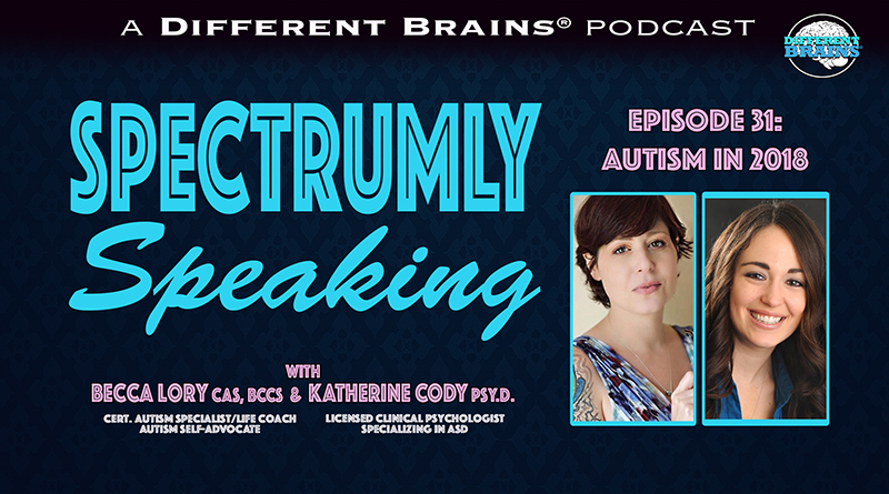 New Years Mini Episode: Autism In 2018 | Spectrumly Speaking Ep. 31