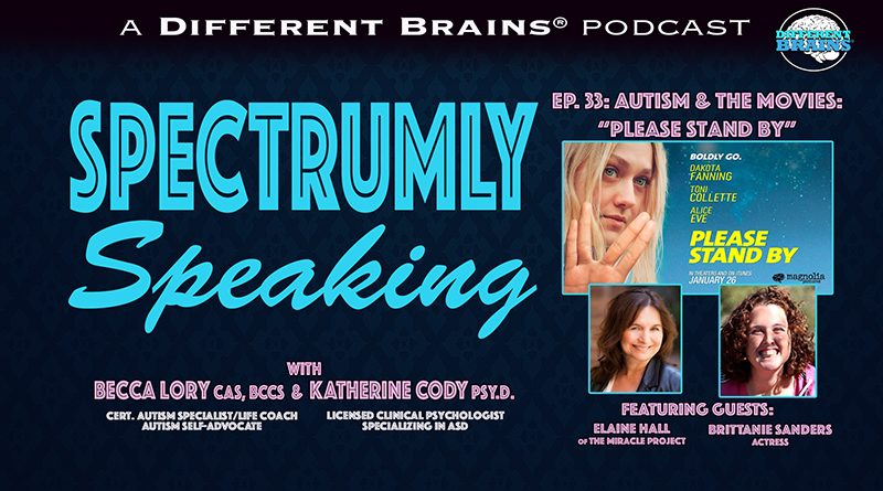 Autism & The Movies: Please Stand By   Spectrumly Speaking Ep. 33