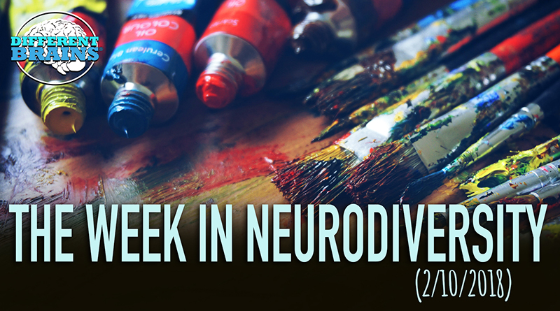 Painter With Down Syndrome Wows Art Community – Week In Neurodiversity (2/10/18)