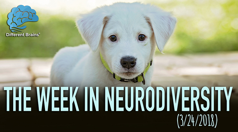 Service Dogs For People With Alzheimer's – Week In Neurodiversity (3/24/18)