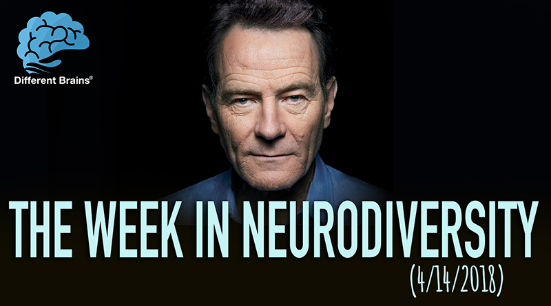 Bryan Cranston Spreads Alzheimer's Awareness – Week In Neurodiversity