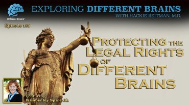 Protecting The Legal Rights Of Different Brains, With Kimberley Spire-Oh | EDB 125