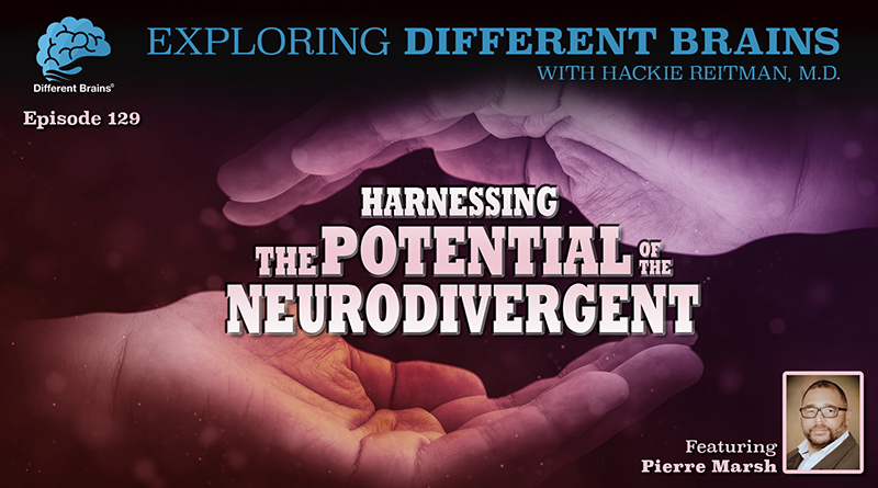 Harnessing The Potential Of The Neurodivergent, With Pierre Marsh | EDB 129