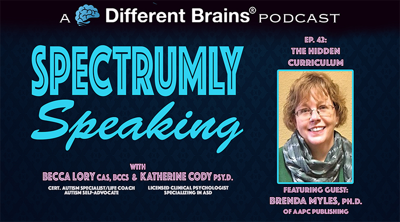 The Hidden Curriculum, With Brenda Smith Myles Ph.D. | Spectrumly Speaking Ep. 42