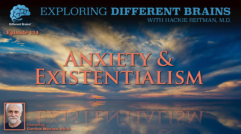 Anxiety And Existentialism, With Gordon Marino, Ph.D.  | EDB 134
