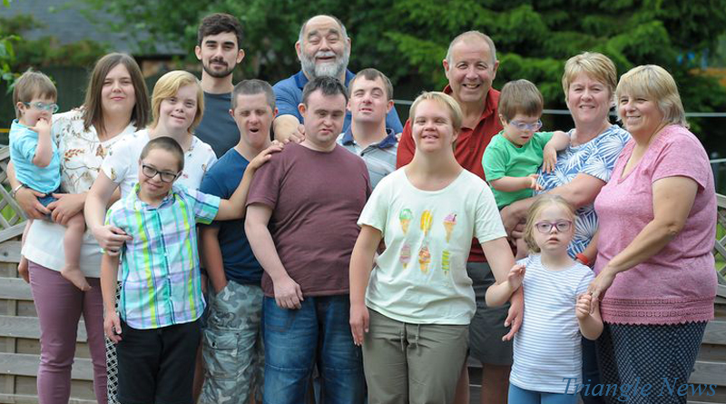 British Family Adopts Nine Children With Down Syndrome