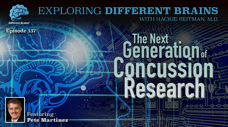 The Next Generation Of Concussion Research, With SIVOTEC Analytics' Pete Martinez   EDB 137