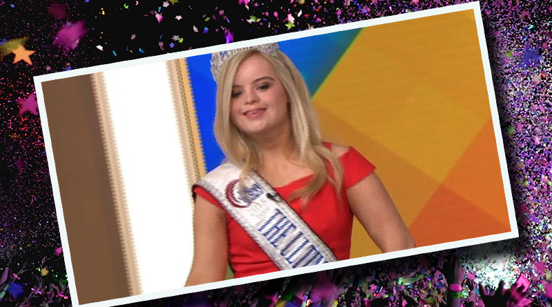 Girl With Down Syndrome Wins International Beauty Pageant