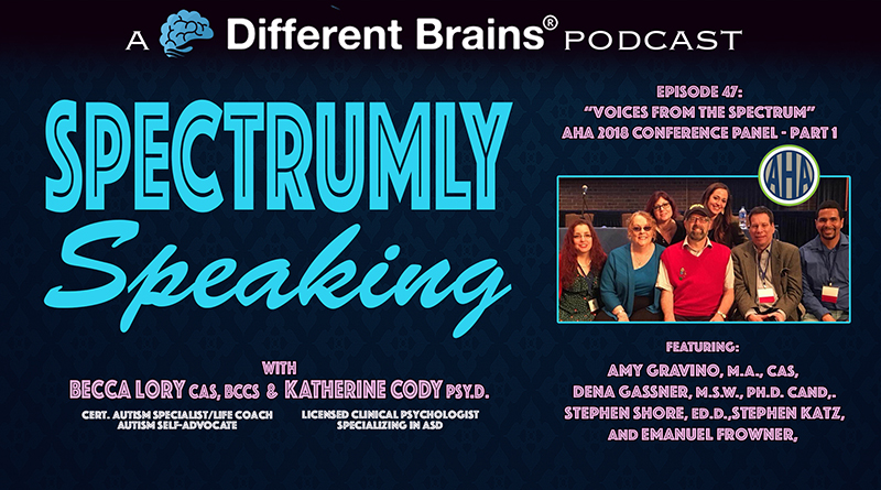 """""""Voices From The Spectrum"""" AHA Panel Part 1, Featuring Dr. Stephen Shore, Amy Gravino, And More 