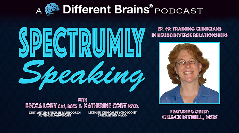 Training Clinicians In Neurodiverse Relationships, W/ Grace Myhill, MSW   Spectrumly Speaking Ep. 49
