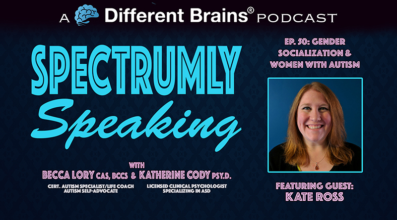 Gender Socialization & Women With Autism, With Kate Ross   Spectrumly Speaking Ep. 50