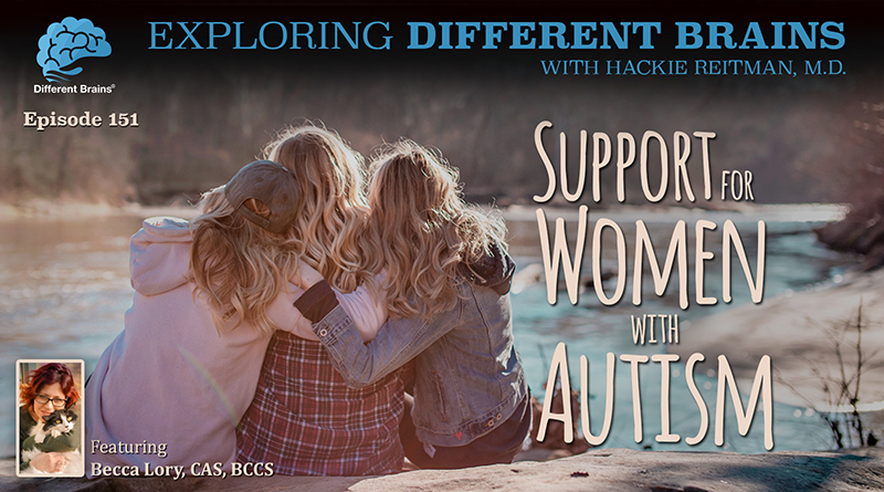 Support For Women With Autism With Becca Lory, CAS, BCCS | EDB 151