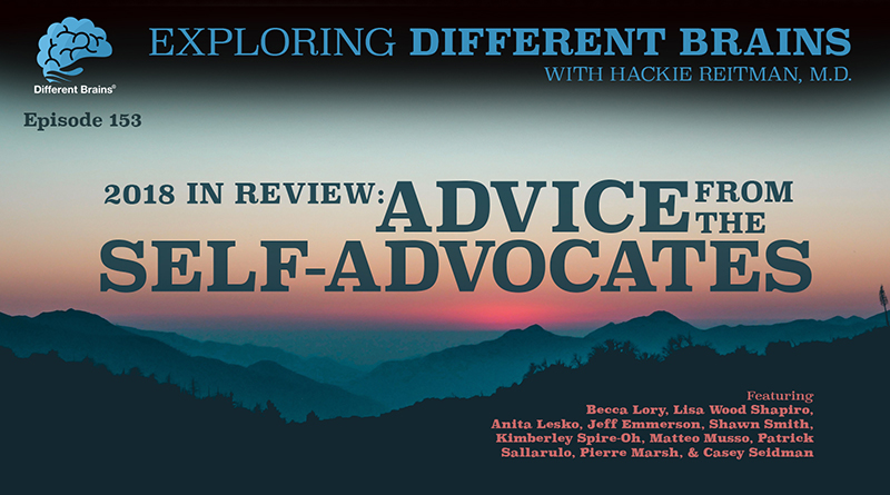 2018 In Review: Advice From The Self-Advocates | EDB 153
