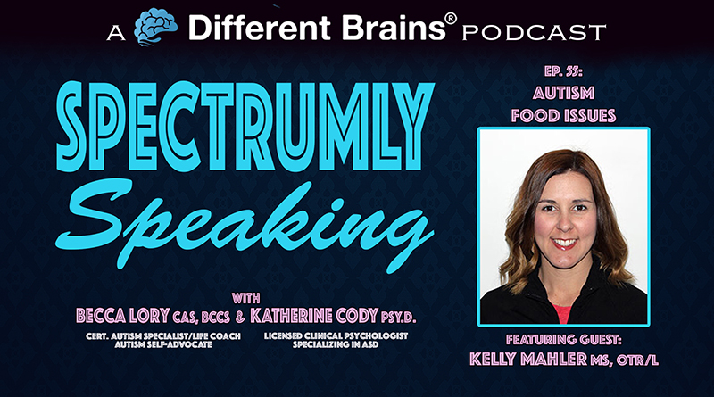 Autism Food Issues, With Kelly Mahler MS, OTR/L | Spectrumly Speaking Ep. 55