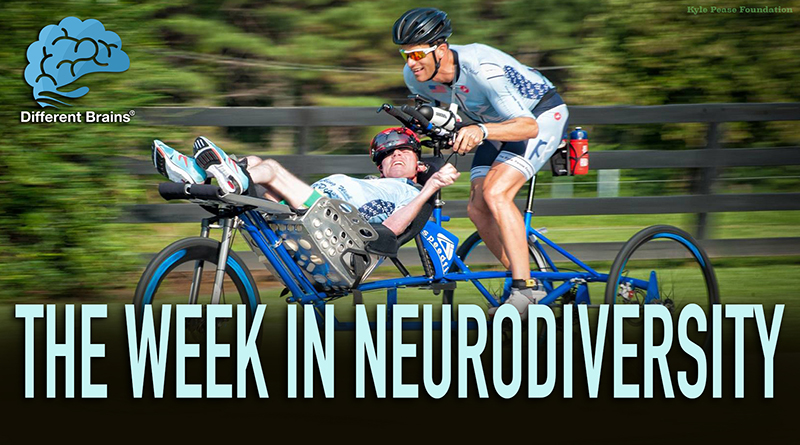 Man With Cerebral Palsy & Brother Conquer Triathlons