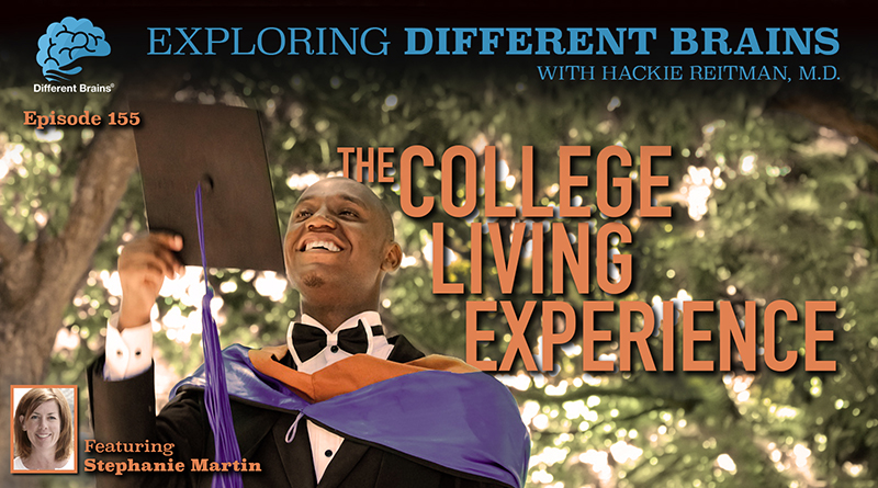 The College Living Experience, With Stephanie Martin   EDB 155