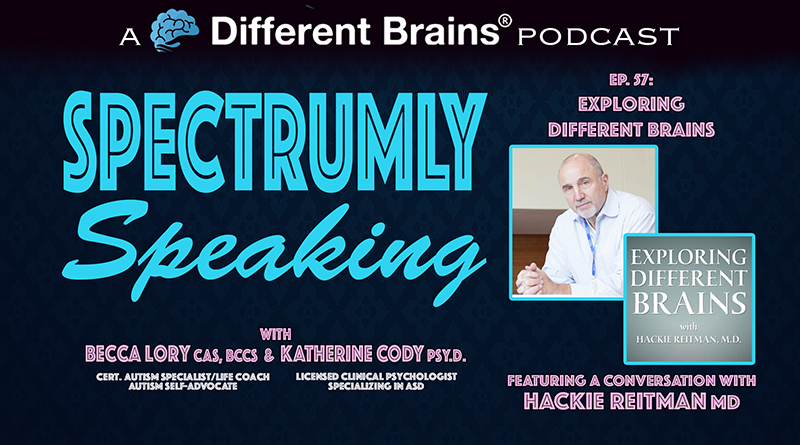 Exploring Different Brains: A Conversation With Dr. Hackie Reitman   Spectrumly Speaking Ep. 57