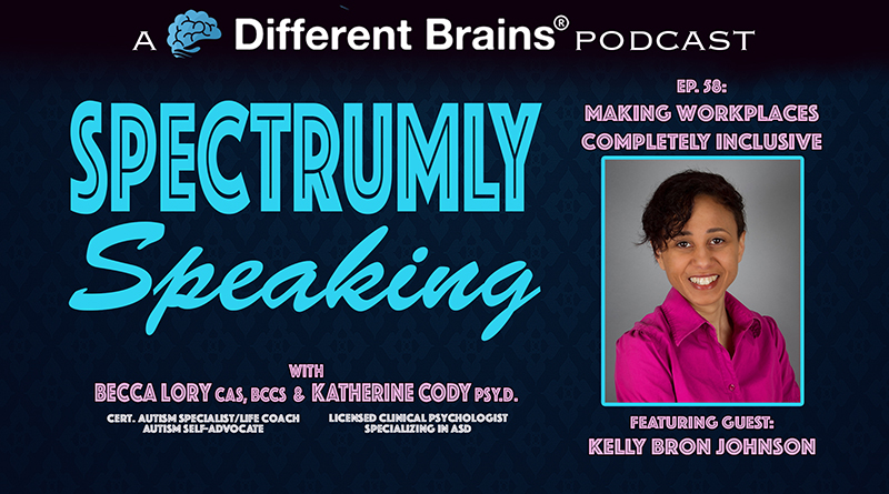 Making Workplaces Completely Inclusive, With Kelly Bron Johnson   Spectrumly Speaking Ep. 58