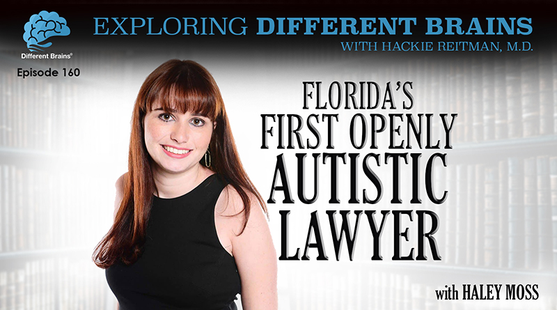 Florida's First Openly Autistic Lawyer, With Haley Moss   EDB 160
